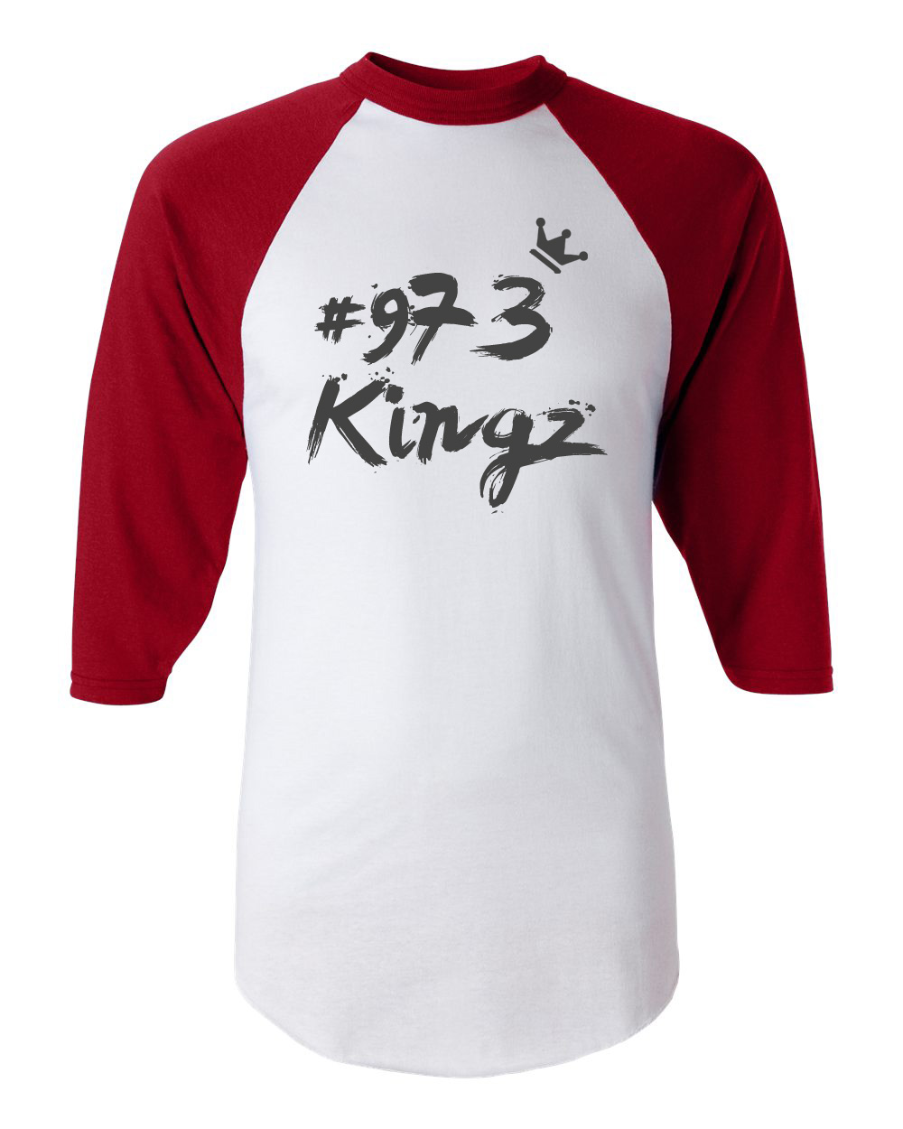 973 Kingz - Baseball Tee (red, white, black)